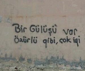 sözler, türkçe sözler, and gülüş image