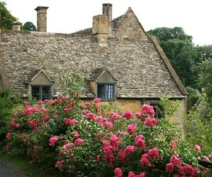 cotswolds, cottage, and snowshill image