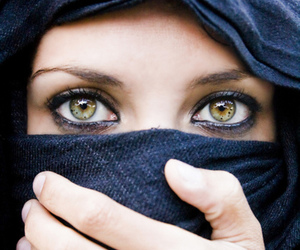 eyes, beautiful, and green image