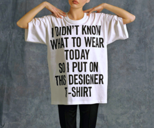 fashion, t-shirt, and style image