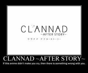 anime, cry, and clannad image