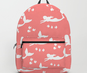 accessories, backpack, and coral image