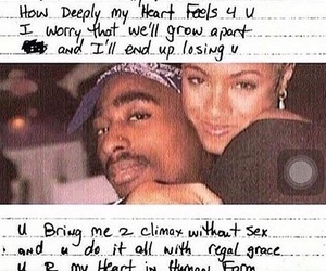 tupac, love, and quotes image