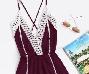 jumpsuit, romper, and summer image