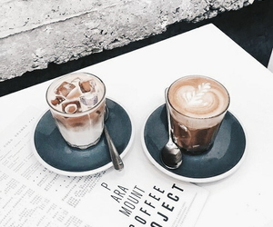 aesthetic, restaurant, and coffee image