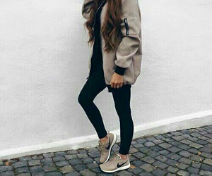 fashion, outfit, and nike image