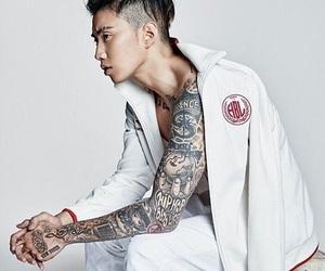 jay park, kpop, and tattoo image