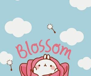 blossom, cuteeeeee, and clouds image