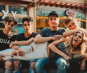 alissa violet, jake paul, and goals image