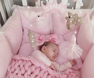 pink, baby, and child image