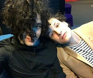 the 1975, matty healy, and george daniel image