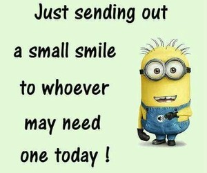smile and minions image
