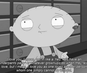 love, family guy, and stewie image