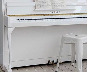 piano and white image