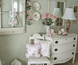 vintage, pink, and chic image