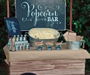 popcorn, food, and ideas image