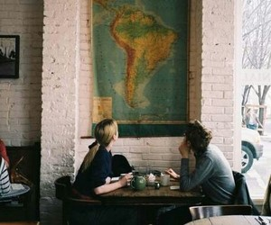 boy, girl, and travel image