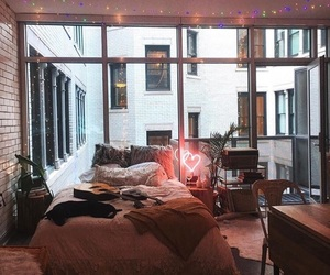 bedroom, interior, and urban outfitters image