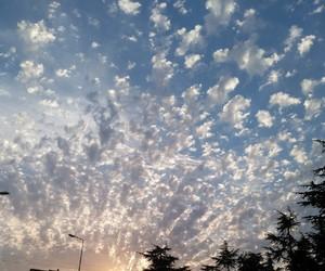 cloud, mavi, and sky image