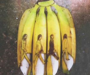 men, bananen, and walk image