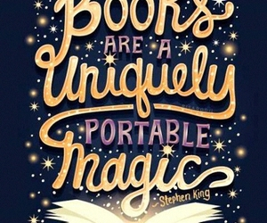 book, quotes, and magic image