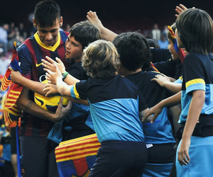 Barcelona, fans, and football image