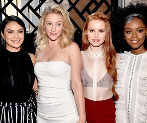 lili reinhart, camila mendes, and riverdale image
