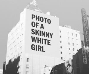 skinny, white, and photo image