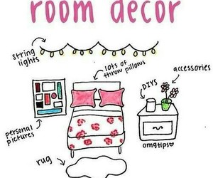 room, diy, and decor image