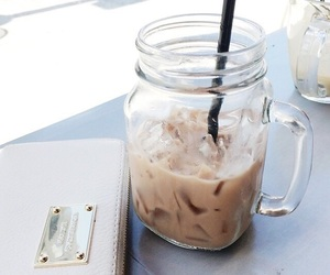 coffee, ice, and summer image