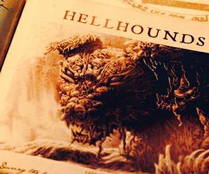 hellhound and supernatural image