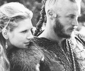 ragnar lothbrok, vikings, and travis fimmel image