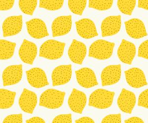 lemon, yellow, and wallpaper image