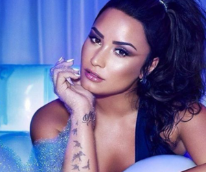 demi, hair, and Hot image