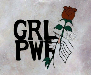 girl power, wallpaper, and power image
