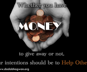 money, give and take, and help other image
