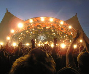 festival, rock, and roskilde image