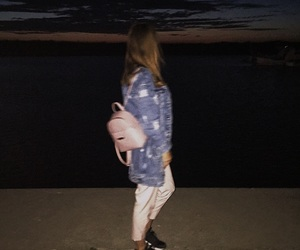 baby pink, fashion, and night image