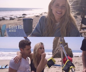 claire holt and small town boy image