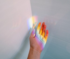 colourful, hand, and photography image