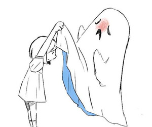 ghost, girl, and draw image