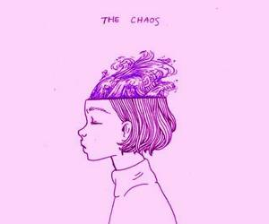 wallpaper, art, and chaos image