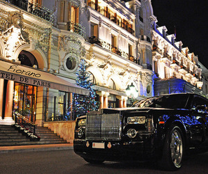 car, luxury, and paris image