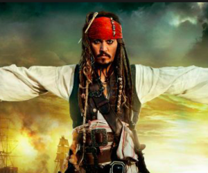 jack sparrow, johnny depp, and pirate image