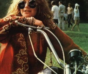 janis joplin and 60s image