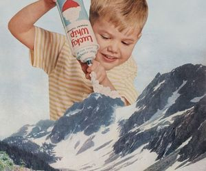 mountains, boy, and vintage image