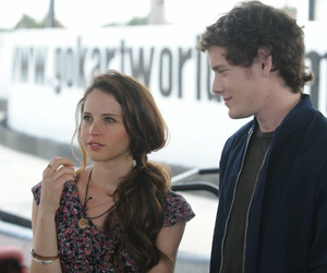 like crazy, Anton Yelchin, and Felicity Jones image