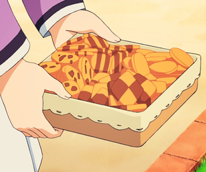 anime, cookie, and food image
