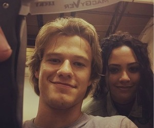 macgyver, lucas till, and tristin mays image