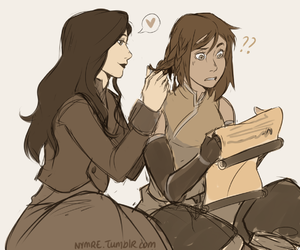 korrasami, asami, and the legend of korra image